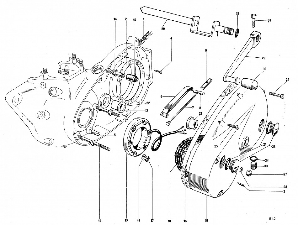 royal enfield engine exploded view